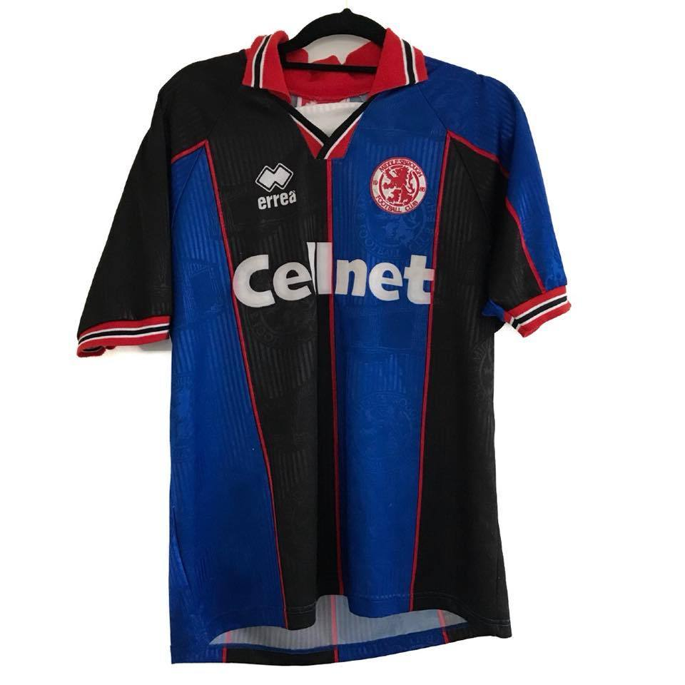 1995-96 Middlesbrough away shirt Excellent L - Football Shirt Collective