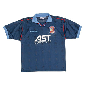 1995-97 Aston Villa Away Shirt (Excellent) L - Football Shirt Collective