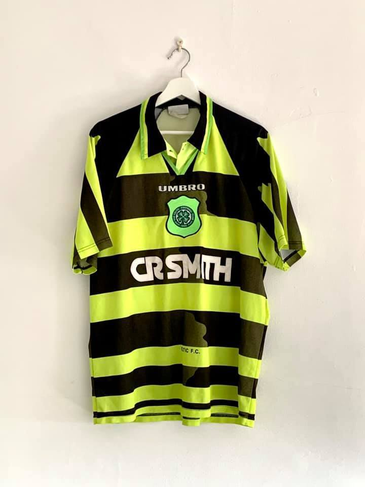 Football Shirt Collective 1995-97 Celtic Away Shirt (Excellent) XL