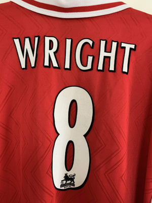 1996-1998 Arsenal Home shirt Wright #8 XL Mint - Football Shirt Collective