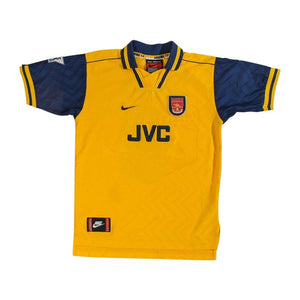 Football Shirt Collective 1996-97 Arsenal Away Shirt Wright #8 *Good* Youth