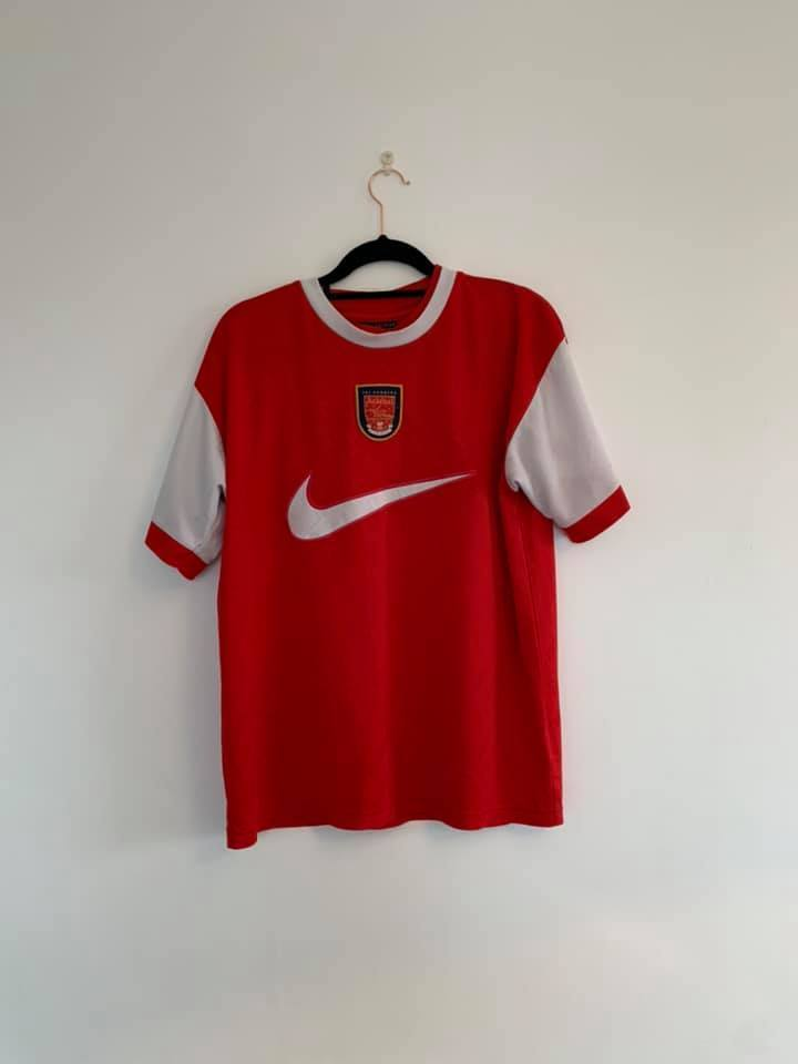 1996-97 Arsenal x Nike training top L (Excellent) - Football Shirt Collective