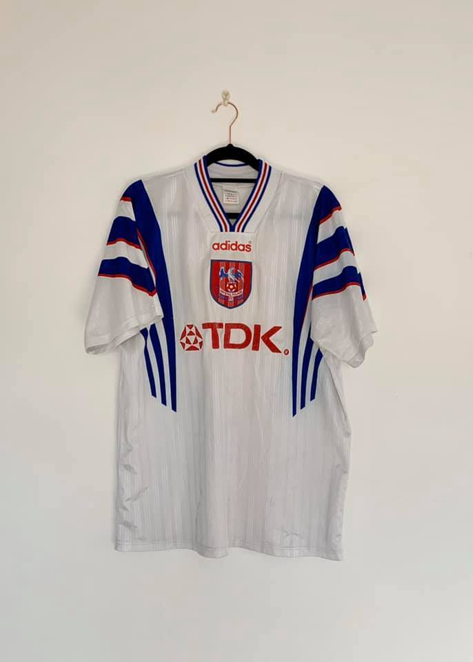 1996-97 Crystal Palace away shirt M Very Good - Football Shirt Collective