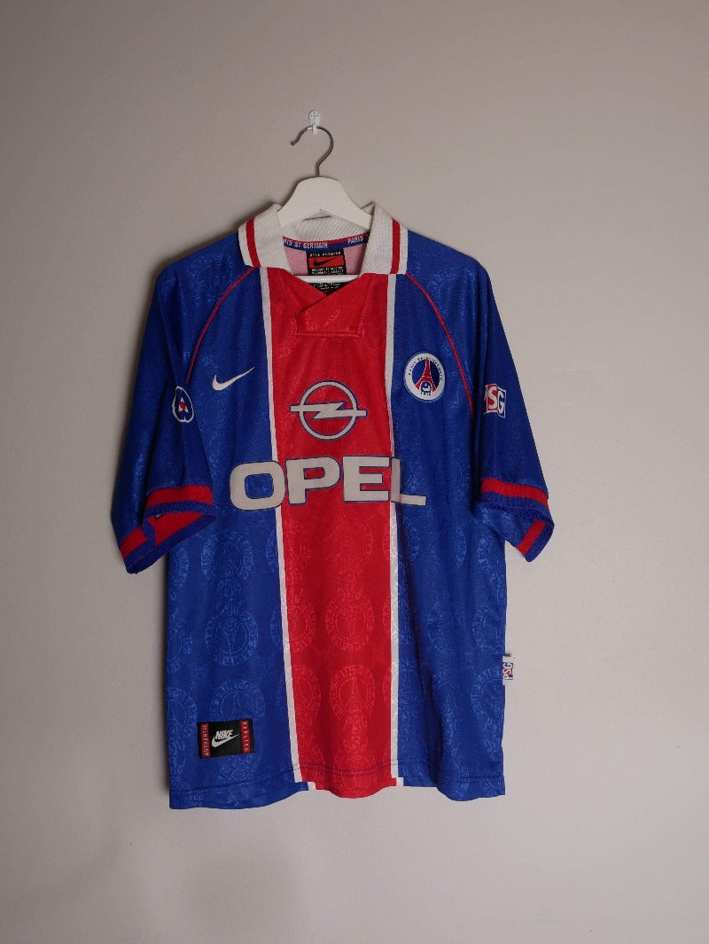 1996-97 Paris Saint-Germain home shirt L (Excellent)