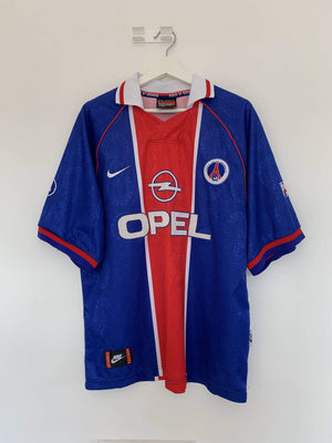1996-97 Paris Saint-Germain home shirt L (Excellent) - Football Shirt Collective