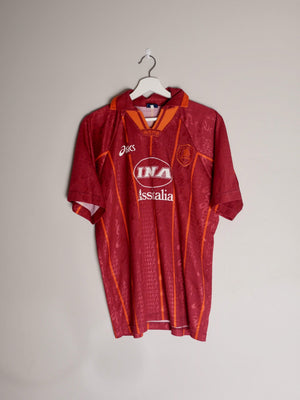 Football Shirt Collective 1996-97 Roma Home Shirt M (Very Good)