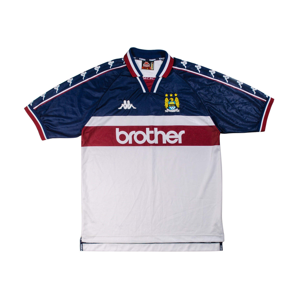 1997-1998 Manchester City away shirt XL (Excellent) - Football Shirt Collective