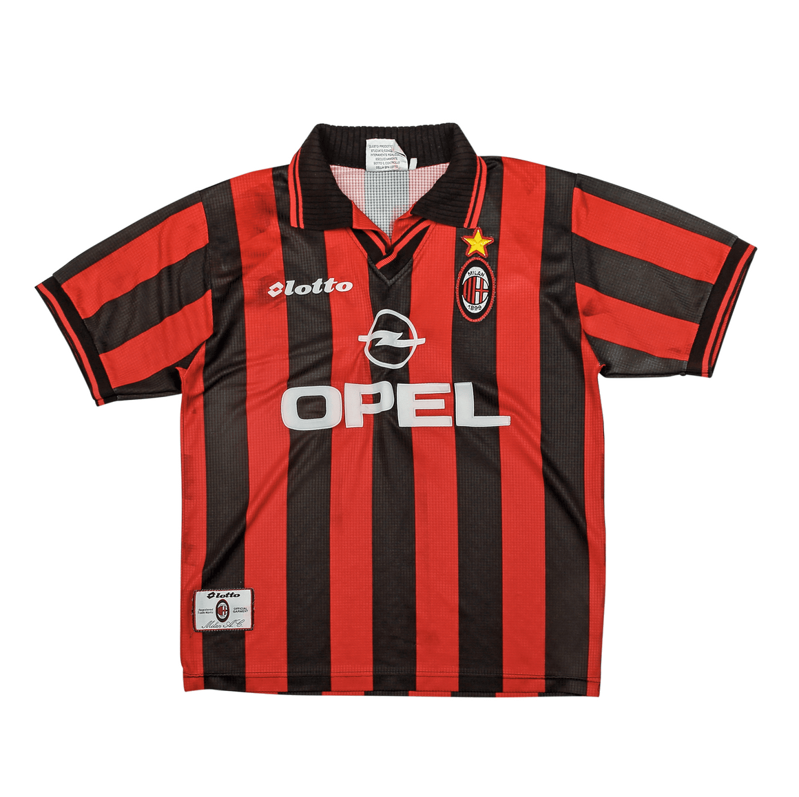 1997-98 AC Milan home shirt S - Football Shirt Collective