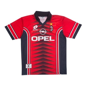 1997-98 AC Milan Lotto training shirt L - Football Shirt Collective