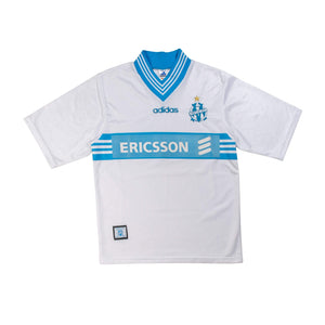 1997-98 Marseille home football shirt S (Excellent) - Football Shirt Collective