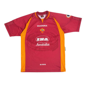 1997-98 Roma Home Shirt M - Football Shirt Collective