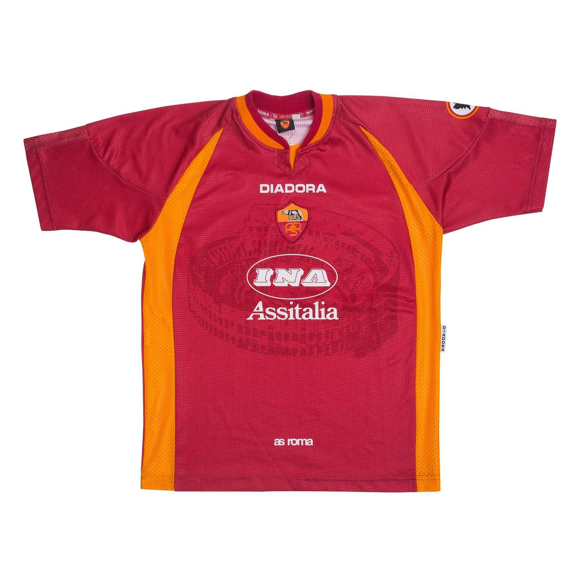 Football Shirt Collective 1997-98 Roma Home Shirt M