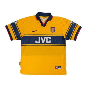 Football Shirt Collective 1997-99 Arsenal Away shirt L Wright 8 (Excellent)