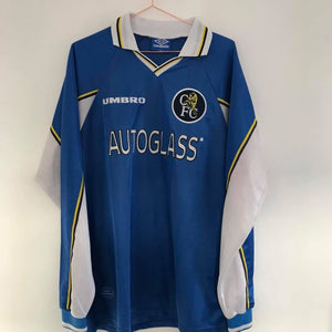 1997 -99 Chelsea home football shirt XXL Poyet 8 - Football Shirt Collective
