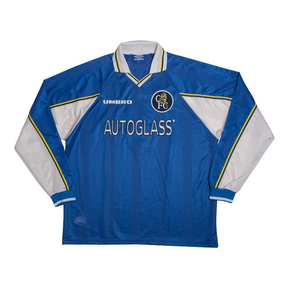 Football Shirt Collective 1997 -99 Chelsea home football shirt XXL Poyet 8