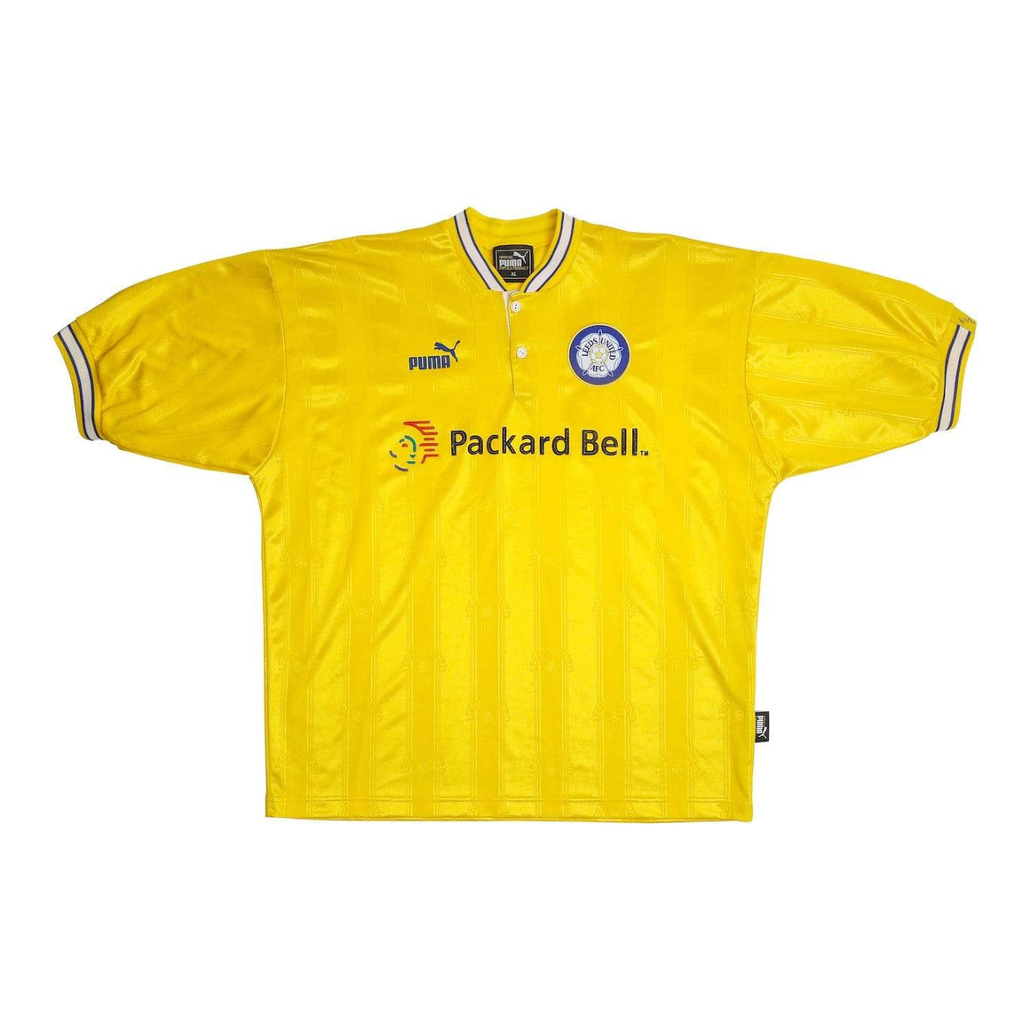1997-99 Leeds United Third Shirt (Excellent) XL - Football Shirt Collective
