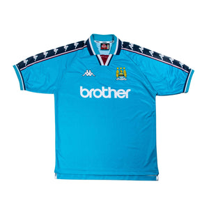 Football Shirt Collective 1997-99 Manchester City Home Shirt XL (Excellent)