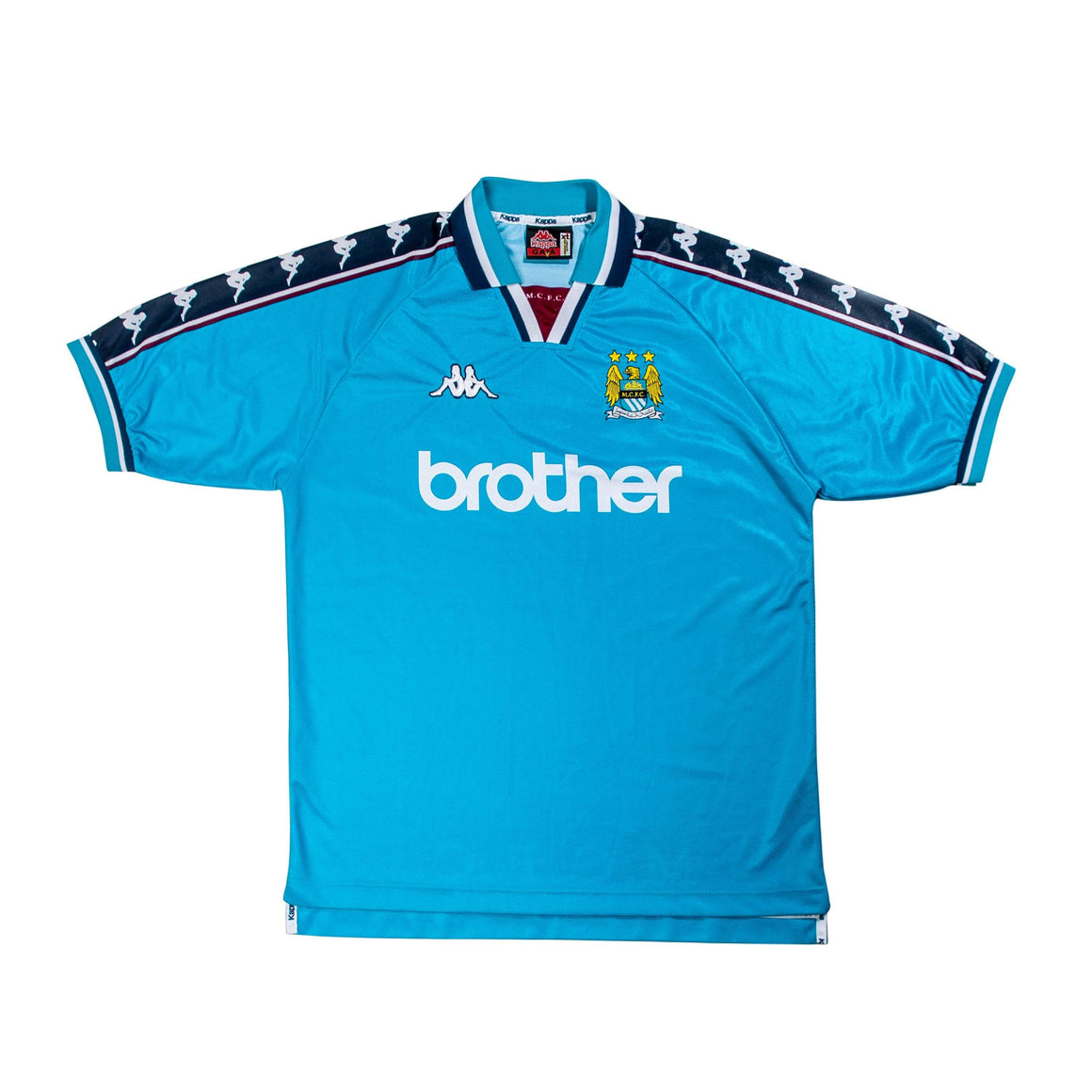 1997-99 Manchester City Home Shirt XL (Excellent) - Football Shirt Collective
