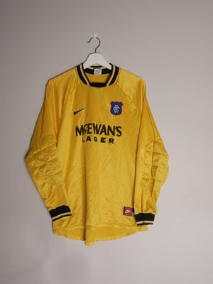 Football Shirt Collective 1997-99 Rangers GK shirt M (Excellent)