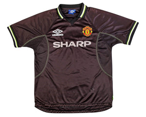 Football Shirt Collective 1998-00 Manchester United 3rd Shirt L Excellent