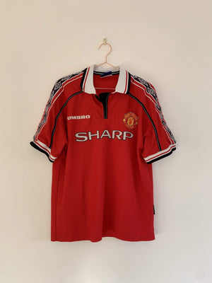 Football Shirt Collective 1998-00 Manchester United Home Shirt L Excellent
