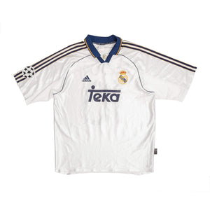 1998-00 Real Madrid home shirt L #10 Seedorf - Football Shirt Collective