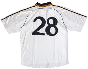 1998-00 Real Madrid home shirt L #28 - Football Shirt Collective