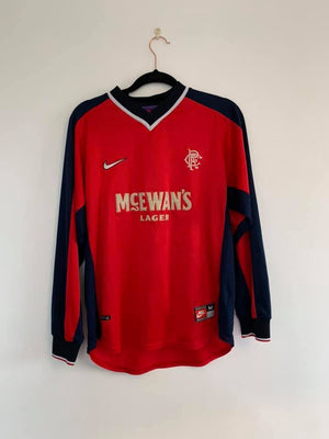 Football Shirt Collective 1998-1999 Rangers 3rd shirt L/S M (Excellent)