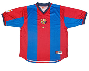 1998-2000 Barcelona home football shirt XL - Football Shirt Collective