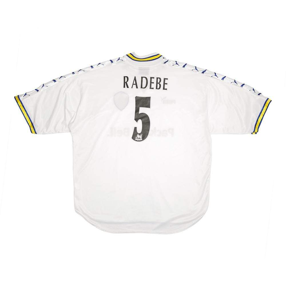 1998-2000 Leeds United home shirt XXL Radebe 5 - Football Shirt Collective