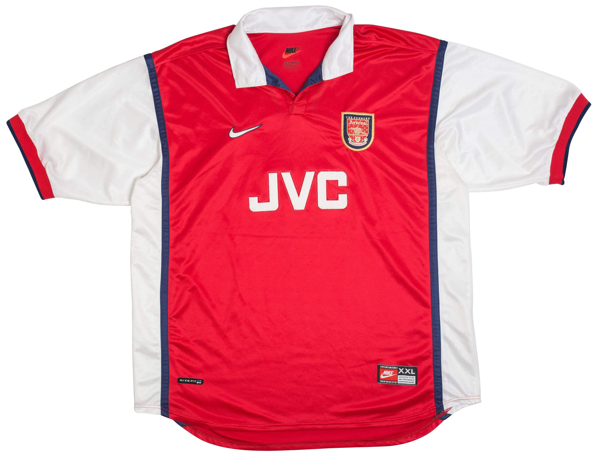 1998-99 Arsenal home shirt XXL - Football Shirt Collective