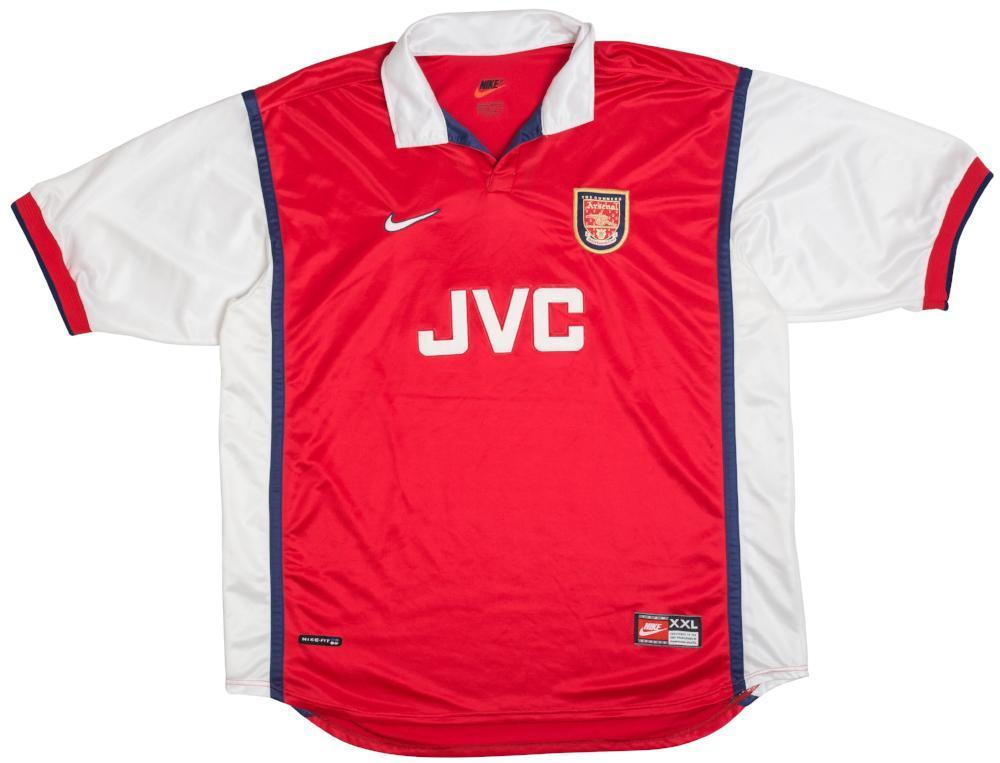 Football Shirt Collective 1998-99 Arsenal Home Shirt XXL