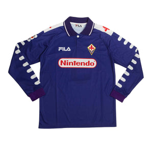 1998-99 Fiorentina home football shirt S #9 Batistuta - Football Shirt Collective