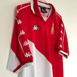 1998-99 Monaco home football shirt XL - Football Shirt Collective