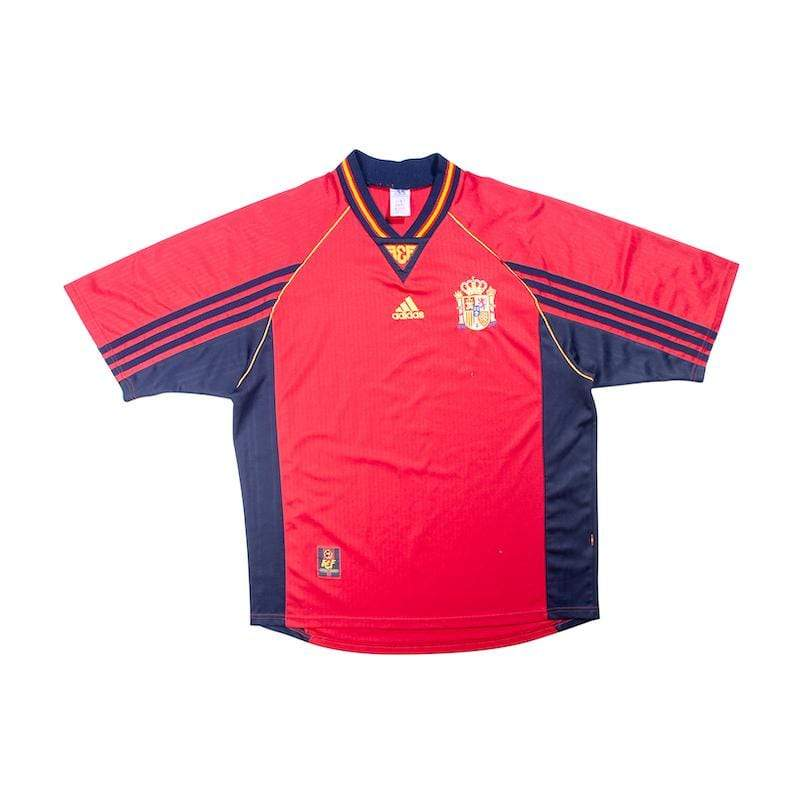 1998-99 Spain Home Shirt (Excellent) XL - Football Shirt Collective