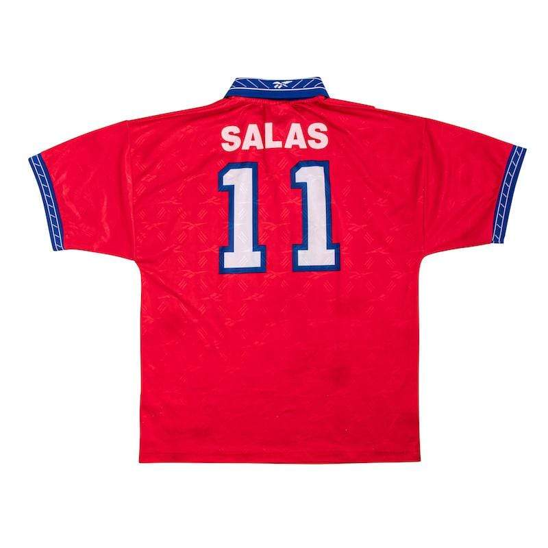Football Shirt Collective 1998 Chile home shirt Salas 11 L (Excellent)