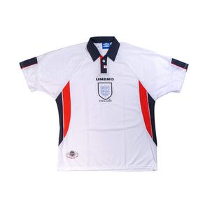 1998 England Home Football Shirt XL - Football Shirt Collective