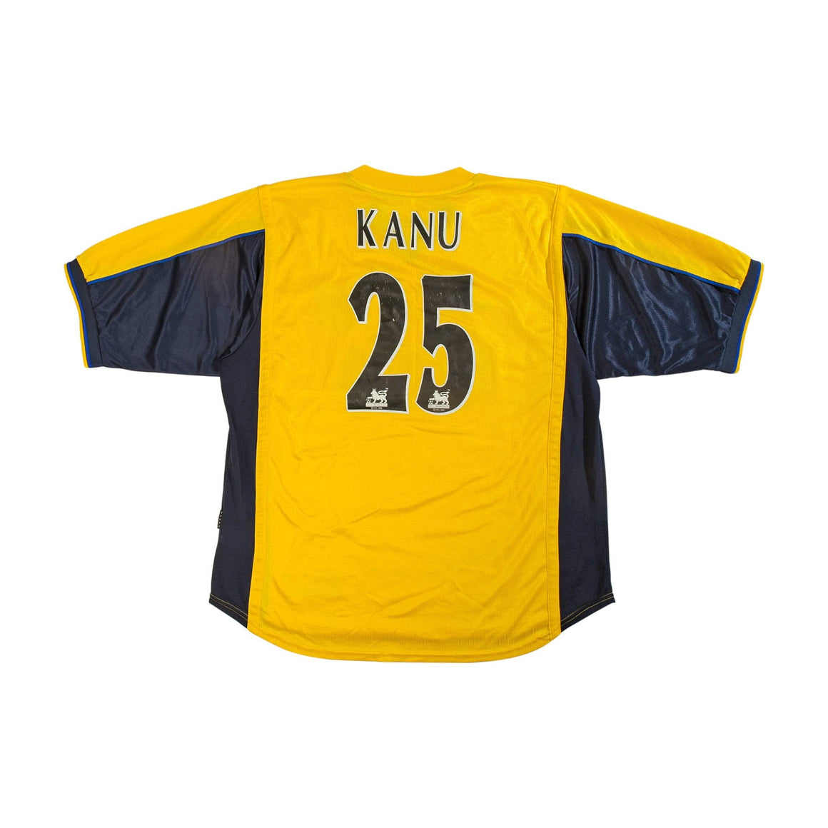 Football Shirt Collective 1999-01 Arsenal away shirt XL Kanu 25 (Excellent)