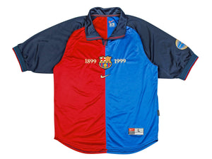 Football Shirt Collective 1999-2000 Barcelona home shirt L Excellent
