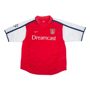 2000-01 Arsenal football shirt XL (Champions League) - Football Shirt Collective