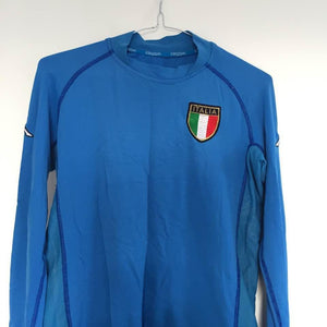 2000-01 Italy long sleeve football shirt L - Football Shirt Collective