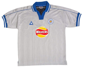 2000-01 Leicester City Away Shirt XL (Excellent) - Football Shirt Collective