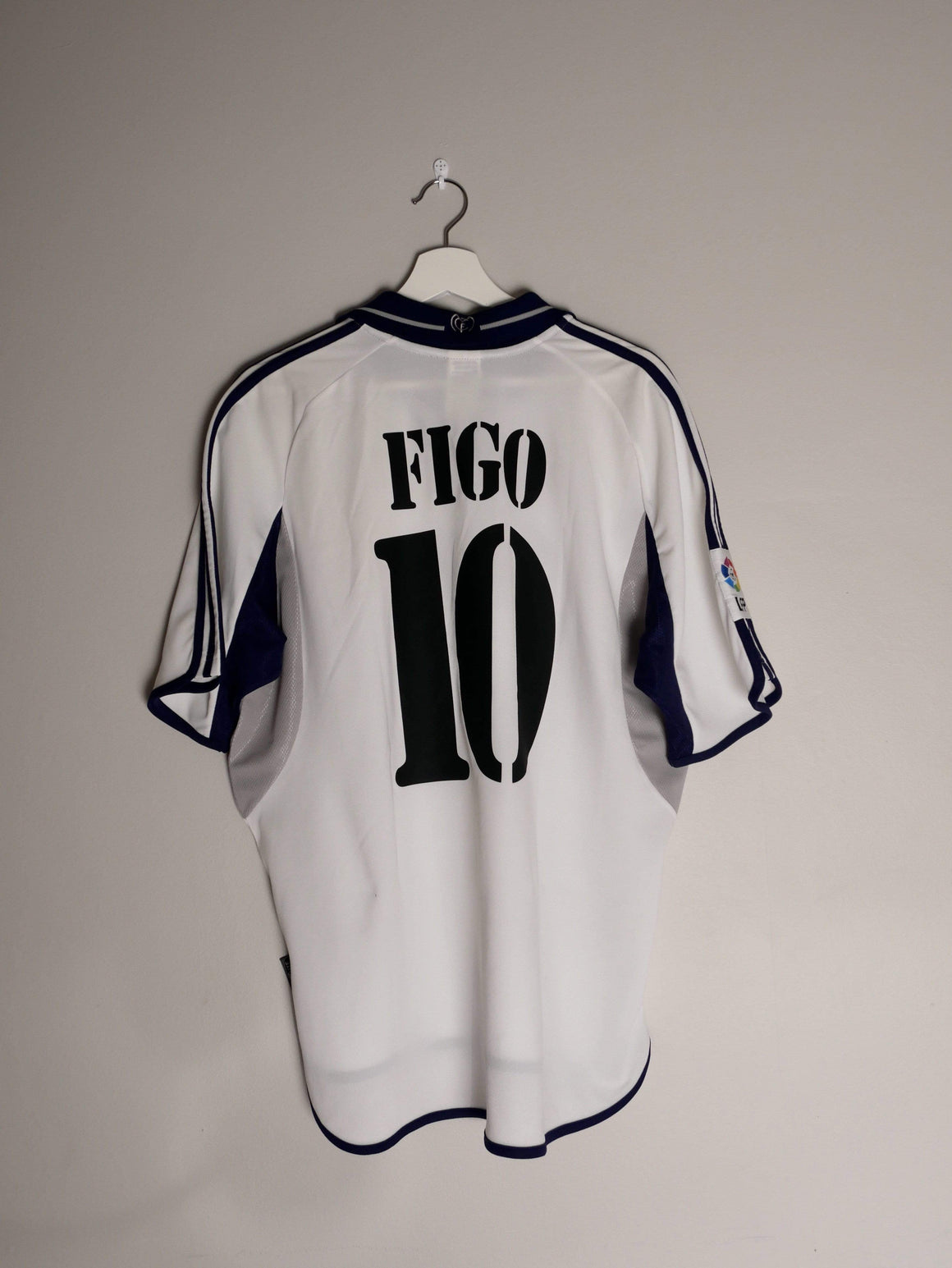 Football Shirt Collective 2000-01 Real Madrid home football shirt L #10 Figo