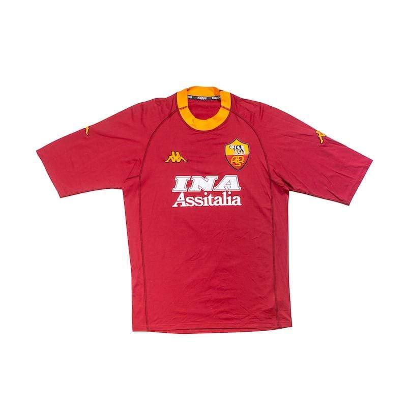 Football Shirt Collective 2000-01 Roma Home Shirt (Very Good) XL