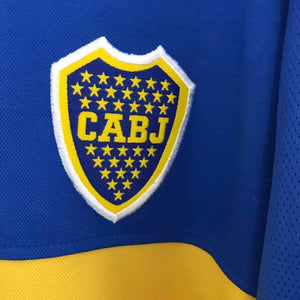 2000 Boca Juniors Home Shirt XL - Football Shirt Collective
