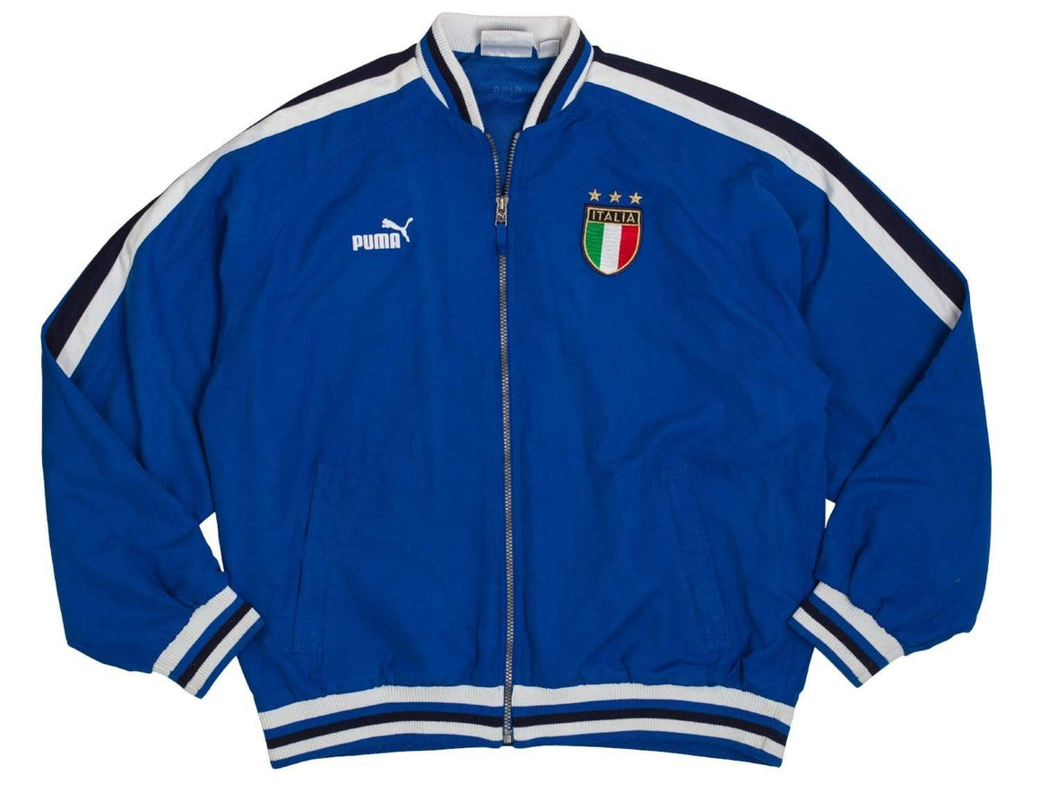 Football Shirt Collective 2000s Italy Track Top Jacket L