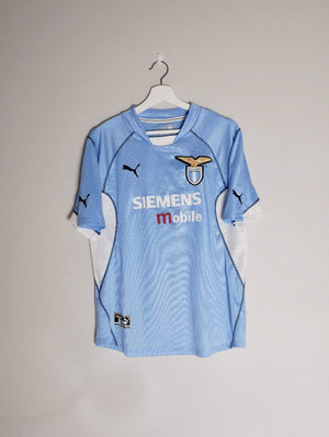 2001-02 Lazio home shirt Medium (Excellent)