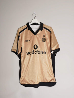 2001-02 Manchester United 3rd shirt L (Very good)