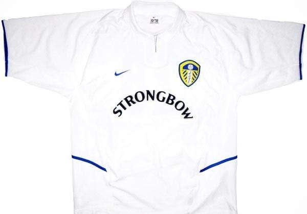 2002-03 Leeds United Home Shirt L - Football Shirt Collective