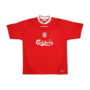 2002-03 Liverpool home football shirt L (Excellent) - Football Shirt Collective